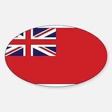 United Kingdom Civil Ensign Rectangle Decal