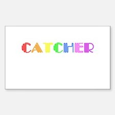 Catcher Rectangle Decal