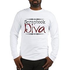 Scrapbook Diva2 Long Sleeve T-Shirt