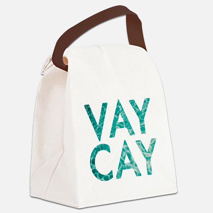vaycay Canvas Lunch Bag