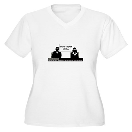 THE MSM LIES Plus Size T-Shirt