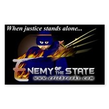 Enemy of the State Decal