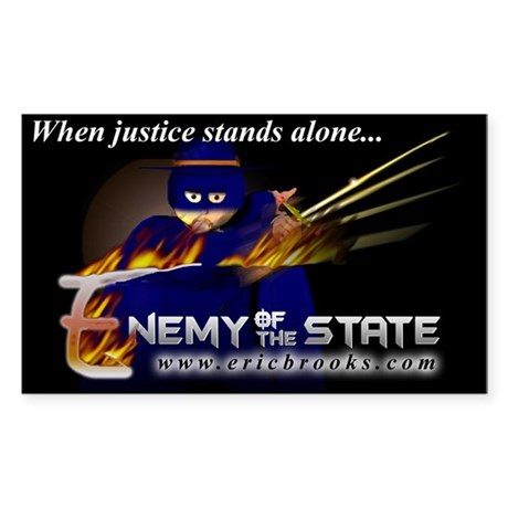 Enemy of the State Sticker