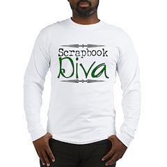 Scrapbooking Diva 2 Long Sleeve T-Shirt