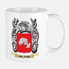 Dolphin Coat of Arms - Family Crest Mugs
