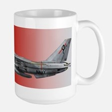 F-14 Tomcat VF-41 Black Aces Large Mug