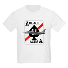 F-14 Tomcat VF-41 Black Aces Kids T-Shirt