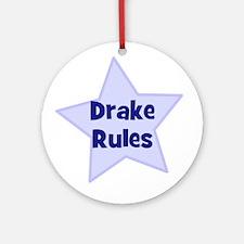 Drake Rules Ornament (Round)
