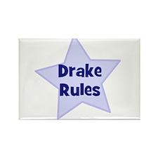Drake Rules Rectangle Magnet