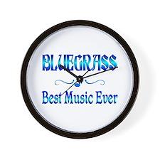Bluegrass Best Music Wall Clock