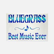 Bluegrass Best Music Rectangle Magnet