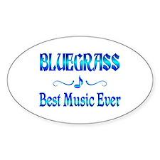 Bluegrass Best Music Decal