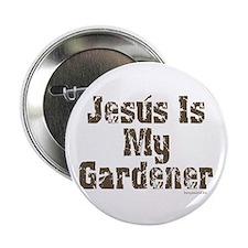 """Gardener Jesus 2.25"""" Button (10 pack)"""