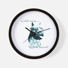 AmStaff Warm Heart Wall Clock