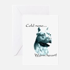 AmStaff Warm Heart Greeting Cards (Pk of 10)
