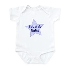 Eduardo Rules Infant Bodysuit
