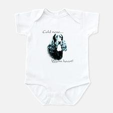 Gordon Setter Warm Heart Infant Bodysuit