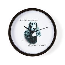 Gordon Setter Warm Heart Wall Clock