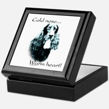 Gordon Setter Warm Heart Keepsake Box