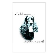 Gordon Setter Warm Heart Postcards (Package of 8)