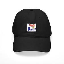 """Happily Retired"" Baseball Hat"