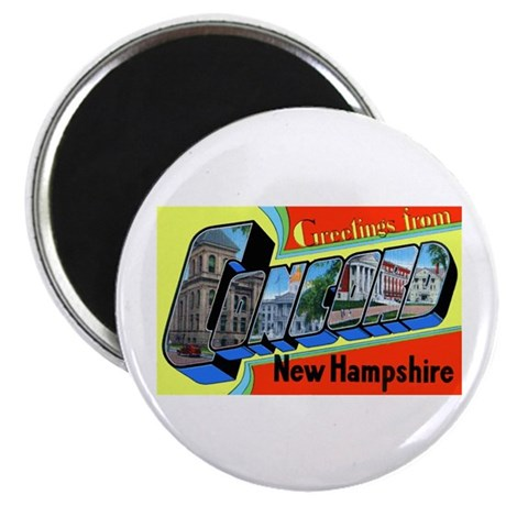 Concord New Hampshire Greetings Magnet