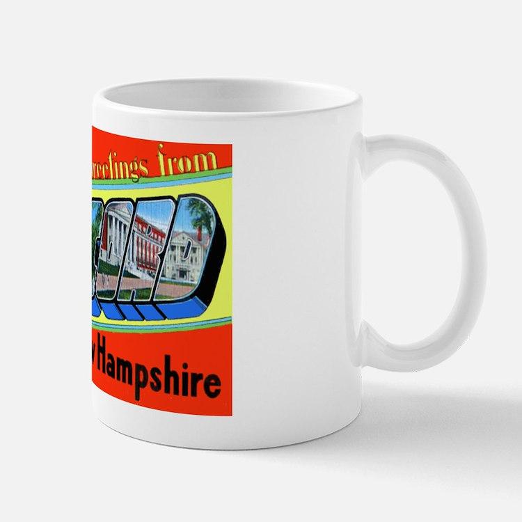 Concord New Hampshire Greetings Mug