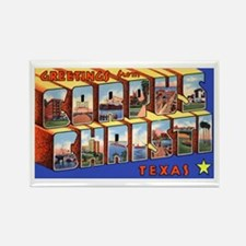 Corpus Christi Texas Greetings Rectangle Magnet