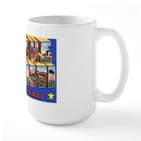 Corpus Christi Texas Greetings Large Mug
