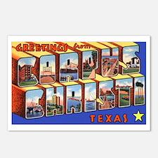 Corpus Christi Texas Greetings Postcards (Package
