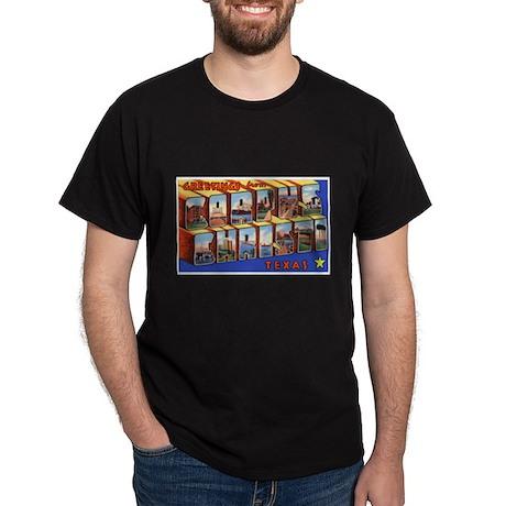 Corpus Christi Texas Greetings (Front) Dark T-Shir