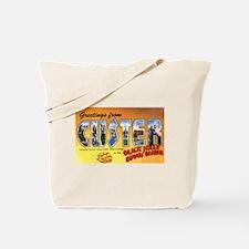 Custer South Dakota Greetings Tote Bag