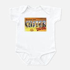 Custer South Dakota Greetings Infant Bodysuit
