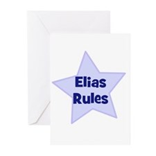 Elias Rules Greeting Cards (Pk of 10)