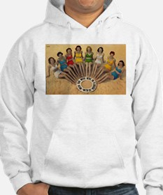 Retro Beach Beauties Hoodie