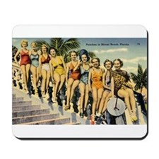 Retro Summer Beauties Mousepad