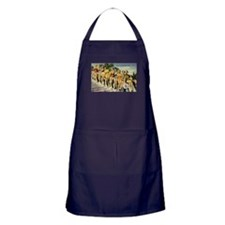 Retro Summer Beauties Apron (dark)