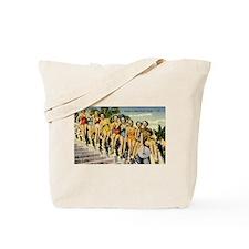 Retro Summer Beauties Tote Bag