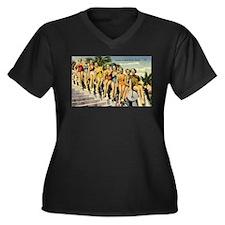 Retro Summer Beauties Plus Size T-Shirt