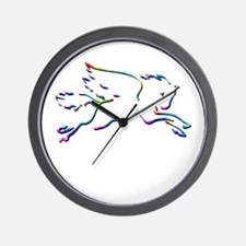 Pegasus Dreams Wall Clock
