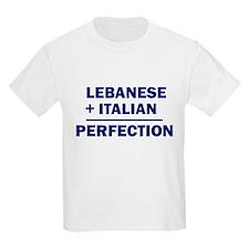 Lebanese + Italian Kids T-Shirt