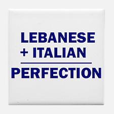 Lebanese + Italian Tile Coaster