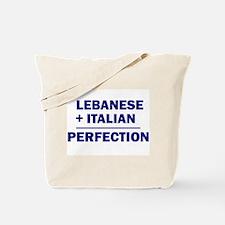 Lebanese + Italian Tote Bag