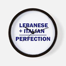 Lebanese + Italian Wall Clock