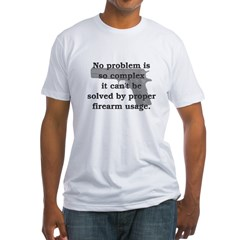 Proper Firearm Usage Shirt