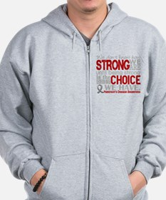 Parkinsons How Strong We Are Sweatshirt