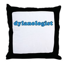 Dylanologist Throw Pillow