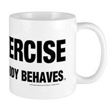 TOP Exercise Slogan Mug
