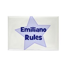 Emiliano Rules Rectangle Magnet