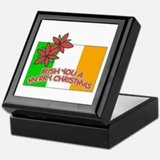 Irish Christmas Keepsake Box